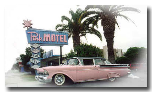 Pink Motel Sign | Day